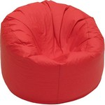Comfort Research Jumbo Bean Bag with Liner - Royal Blue Vinyl
