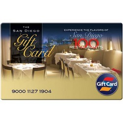 San Diego Restaurant Two $50 Gift Cards